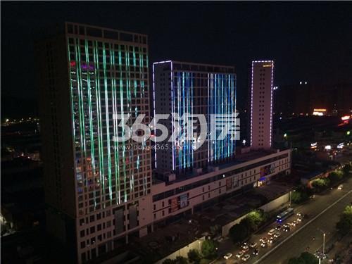 南翔城市广场实景图
