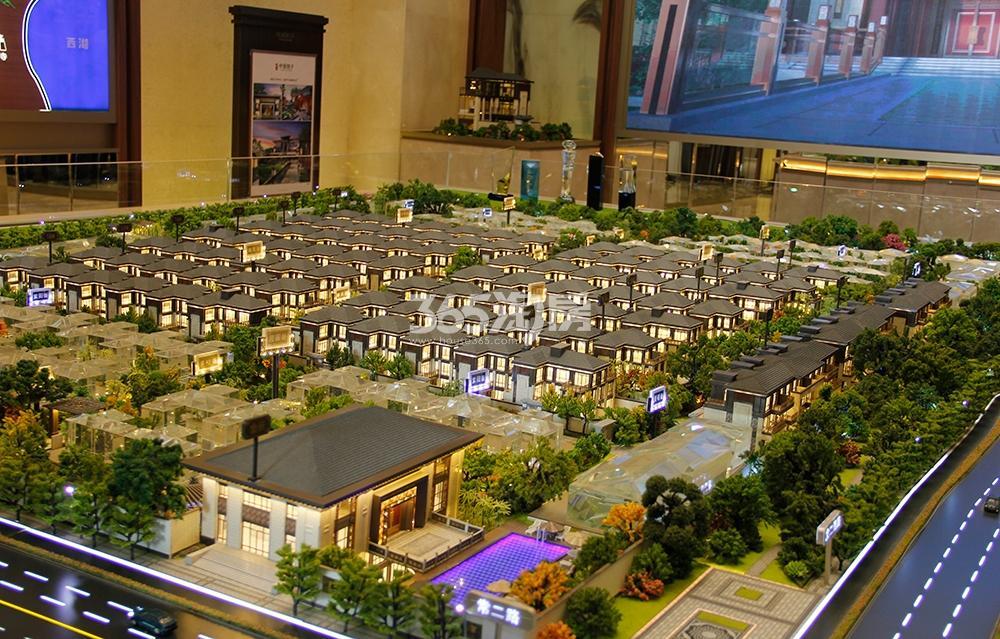泰禾杭州院子鸟瞰图