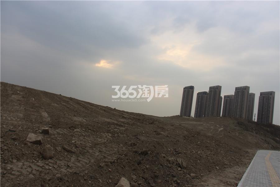 金奥文昌公馆四期项目地实景