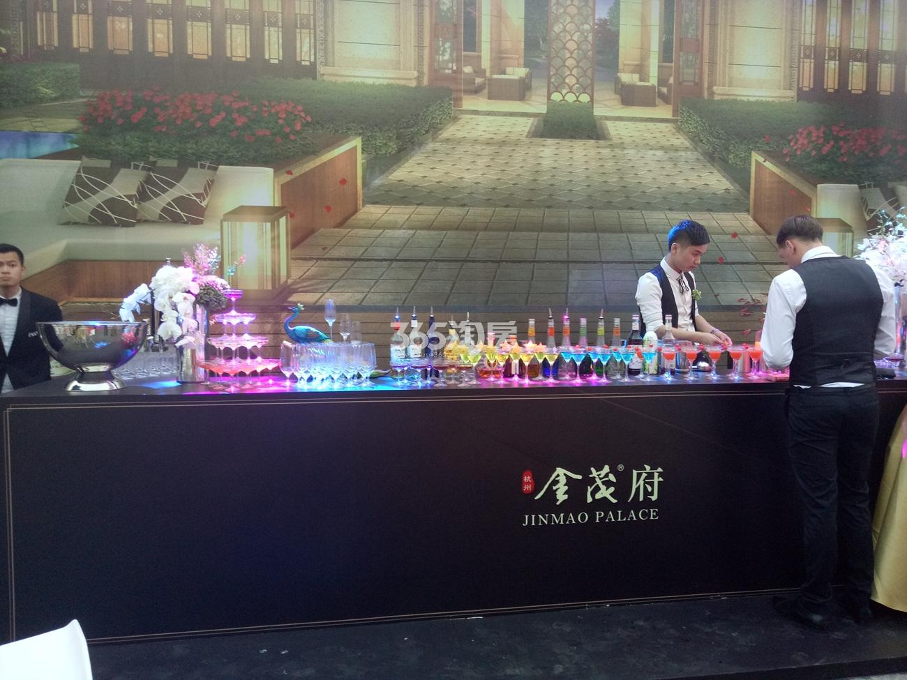 2017.4.15首开杭州金茂府示范区开放