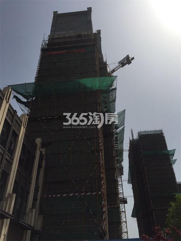 苏宁悦城项目实景(4.19)