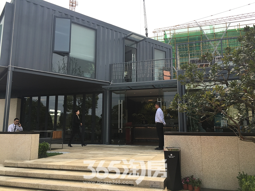 融创玖樟台营销中心实景图(2017.5.12)