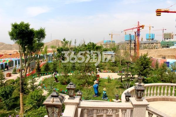 华远三千院园林实景图(2017.5.20)