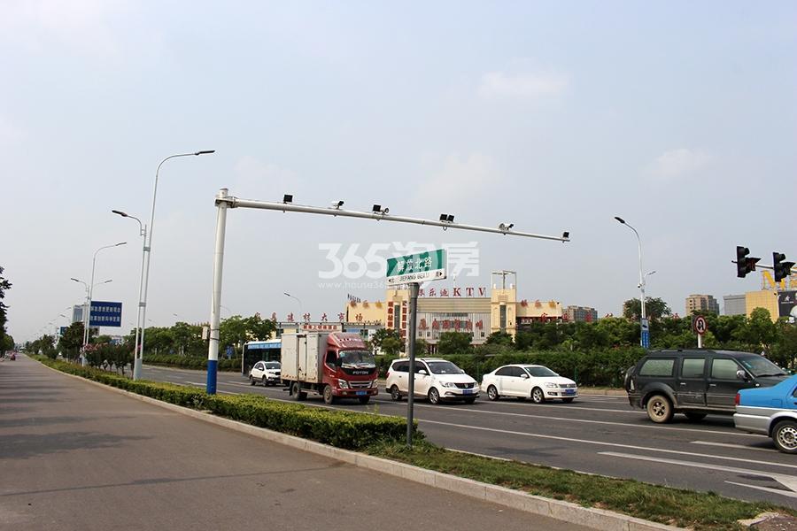 中恒蚌埠义乌国际商贸城2期交通图