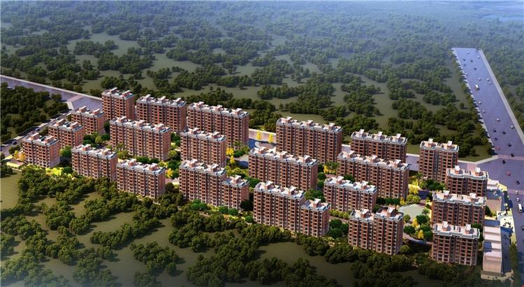 万鑫·御园(住宅)万鑫·御园项目鸟瞰图