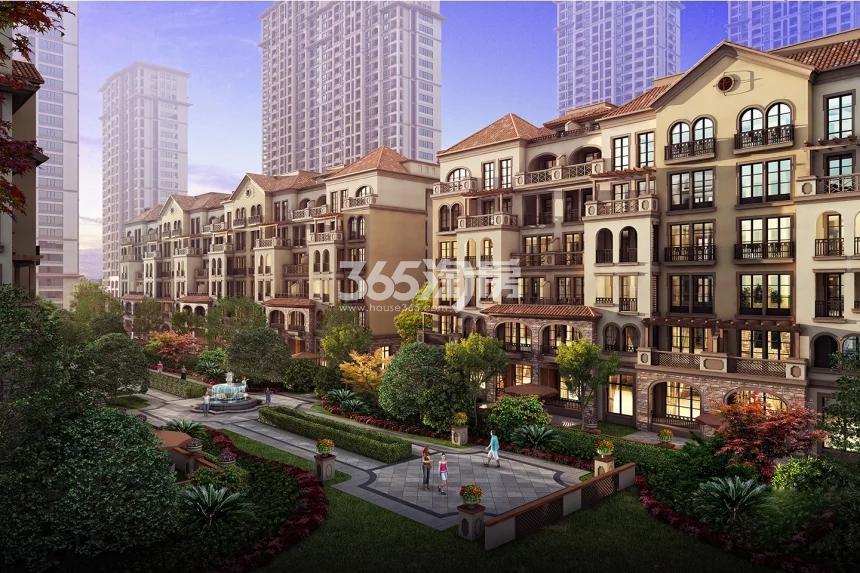 中国铁建西湖国际城效果图