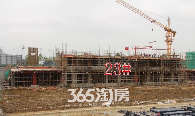 金科海昱东方23#工程进度图(2017.10.1)