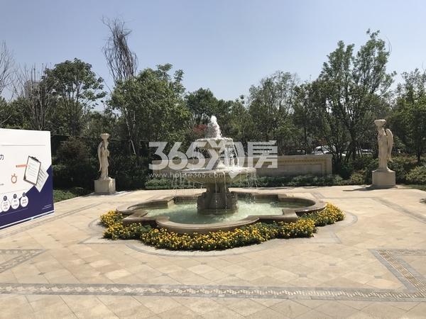 蓝光公园华府示范园区园林实景拍摄(201710.10)