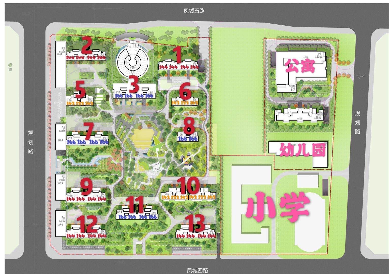 中南君启项目(DK1)鸟瞰图