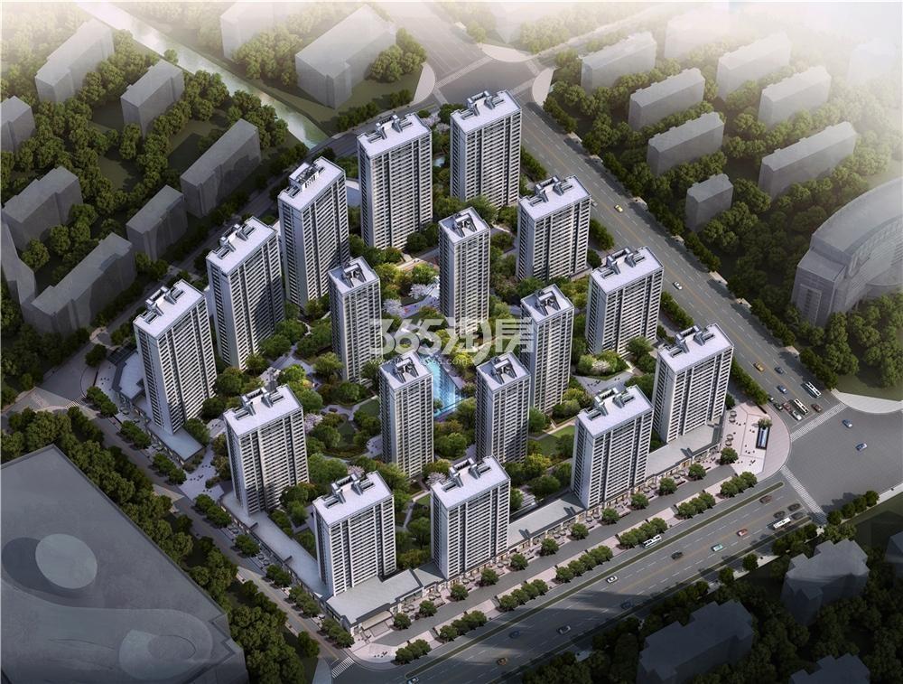 新视界公寓新界2020鸟瞰图